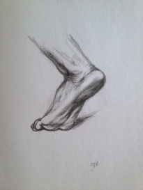 Sketch, graphite pencil